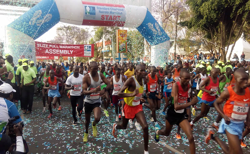 The Standard Chartered Nairobi Marathon